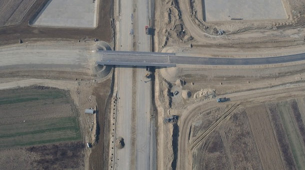 Fotografujemy <b>inwestycje</b> - autostrada A4